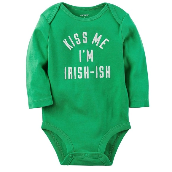 Carter's Other - Carter's St Patrick's Day Bodysuit Irish